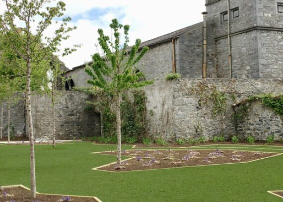 Evans Home Side Garden
