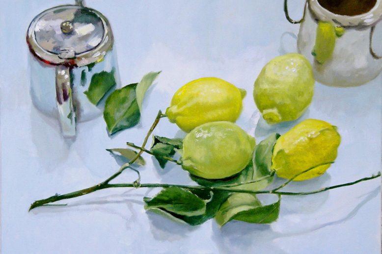 Lemons Teapot Blaise Smith