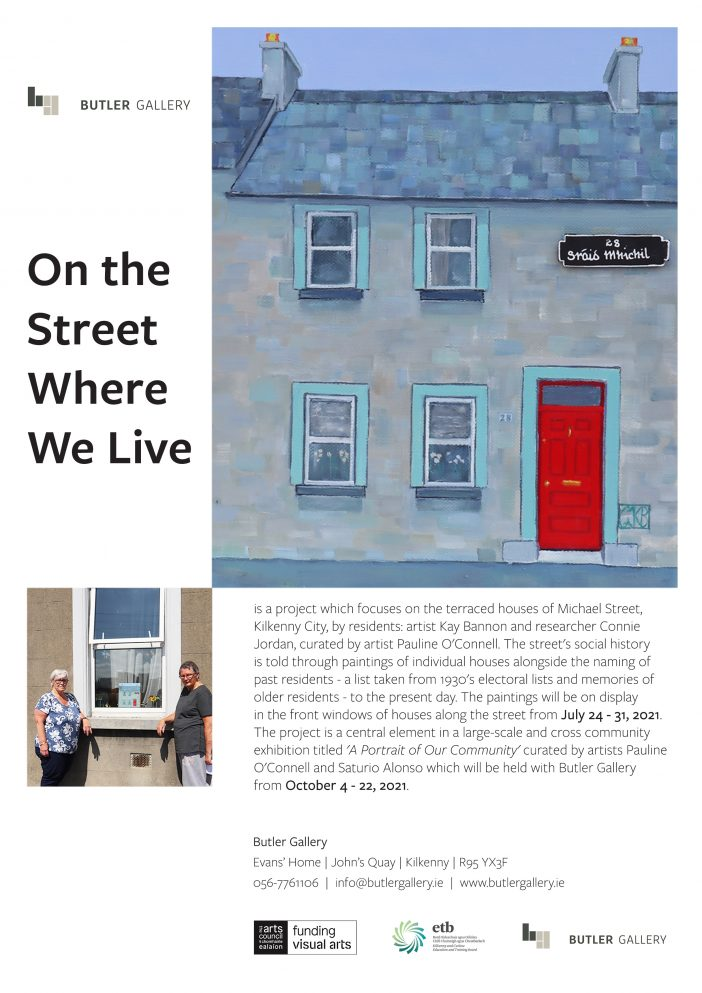 On the Street Where we Live poster new