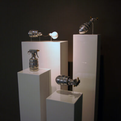 Aideen Barry,  'Spray Grenade', Installation View, 2008 - 2009