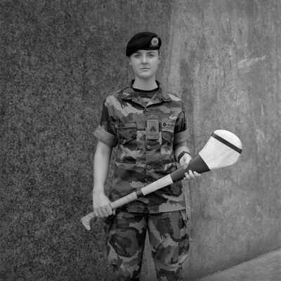 Amelia Stein, Soldier, Camogie Player Private Ciara Nevin, 2019