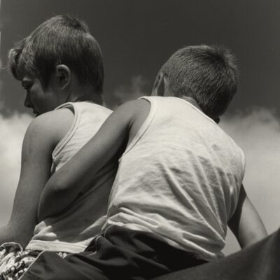 Gypsy Ray (1949 - 2020), 'Brothers', Silver Gelatin Photograph (archivally printed), Edition No. 2/25, 50.8 x 40.9cm, 2010