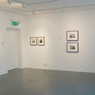 Installation View, Portraits from The David Kronn Collection