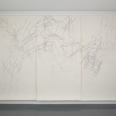 Felicity Clear, 'Nothing seems normal anymore', Pencil on paper, 270 x 390 cm, 2013,  Cerdit: Photography Roland Paschhoff8