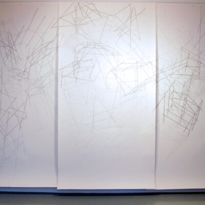 Felicity Clear, Felicity Clear, 'Nothing seems normal anymore', Pencil on paper, 270 x 390cm, 2013