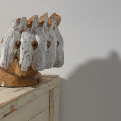 Janet Mullarney, 'Mother in me', Wood on wooden chest, 116 x 115 x 62.5cm, 2014, Credit: Photography Roland Paschhoff
