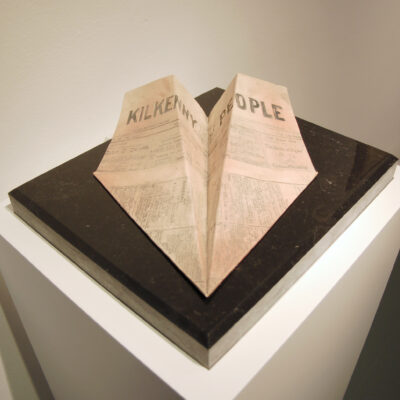 Moya Bligh (1954 – 2009) and Lisa Young, 'Joyce Plane - The House of Keyes', Printed ceramic, Kilkenny Marble, Edition of 10, 30 x 36cm, 1982, Gift from the Bligh and Sato Families