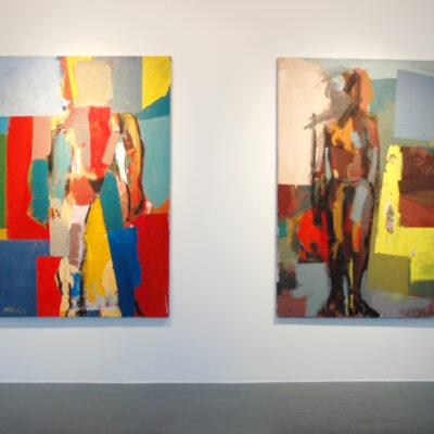 Michael Kane, (L-R) Standing Figure, Standing Dummy