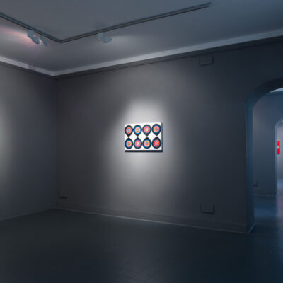 Marilyn Lerner, Circle in the Square Installation View, Credit: Photography Roland Paschhoff