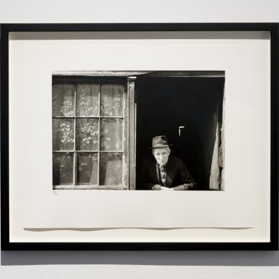 Nevill Johnson (1911–1999): 'Old Man, Garden Lane', 1952, Selenium toned gelatin silver print, Collection of IMMA, Credit: Photography Roland Paschhoff