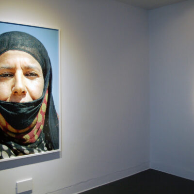 (L-R) Jackie Nickerson, Untitled, Edition 1/3, David Godbold, Art sort of irritates me