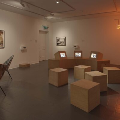 Susan MacWilliam, Modern Experiments, Installation Image. Photography Ros Kavanagh