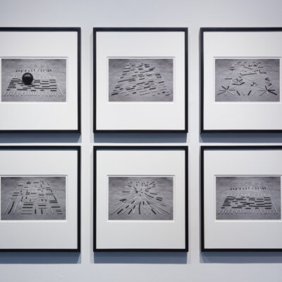 Isabel Nolan, 'The Provisory Rug adapted and documented for past, present and future', 2012. Courtesy Kerlin Gallery. Photography Roland Paschhoff