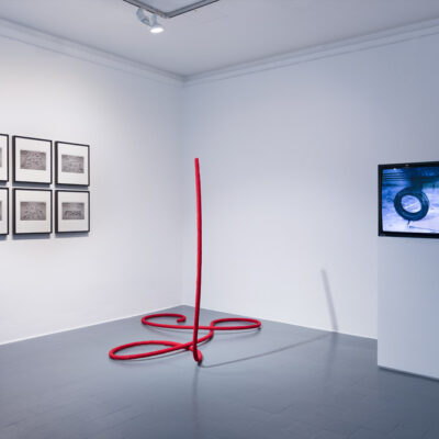 The Way Things Go, installation image. Isabel Nolan, Peter Fischli & David Weiss. Photograph Roland Paschhoff