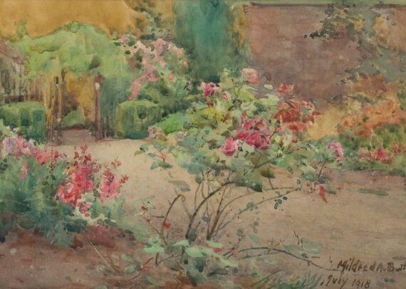 Mildrid Anne Butler A Bit of the Garden