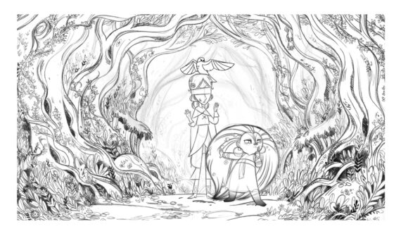 BG Wolf Walkers Colouring Sheet 3