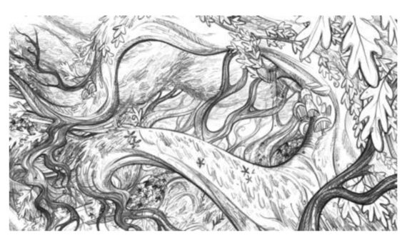 BG Wolf Walkers Colouring Sheet 4