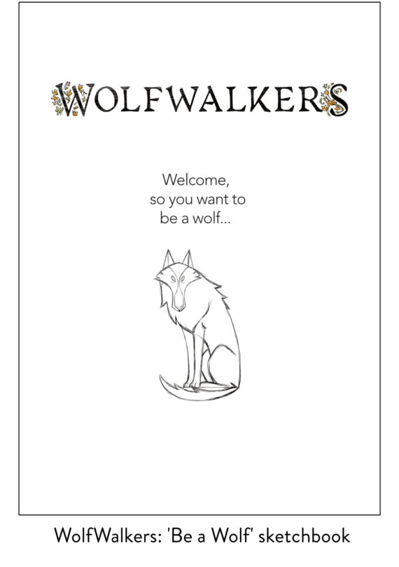 Download Be A Wolf Sketchbook