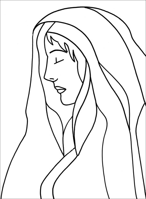 Sir John Lavery Butler Gallery Collection Colouring Page 2
