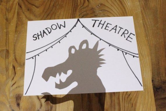 Shadow theatre banner